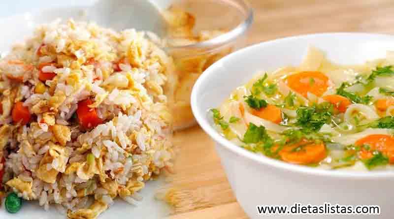 alimentos permitidos dieta blandas