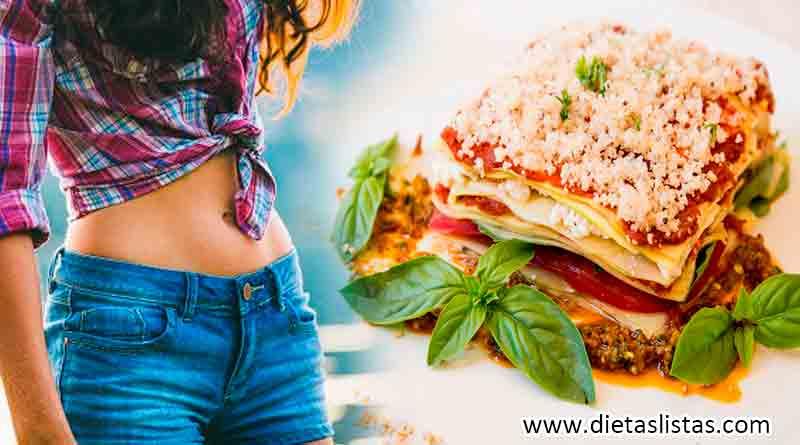 Dieta vegana para adelgazar barriga.