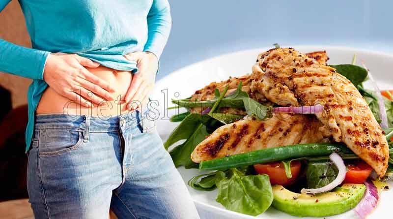 dieta para perder barriga mujer